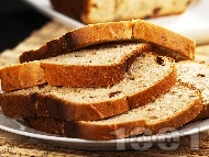 Рецепта Козуначен хляб за хлебопекарна